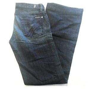 7 for all Mankind jeans.Size 26.Bell bottoms.Dojo